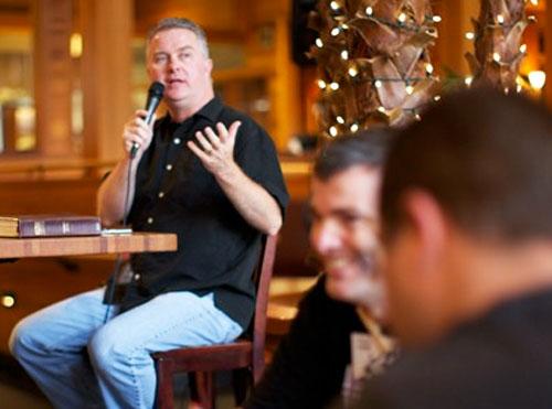 Men Step Our Leadership-Casey Sanders of Jesus Spoken Here ministriesUp Gwinnett-mens ministry in the Greater Atlanta area